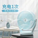 usb小風扇便攜式可充電迷你風扇隨身靜音學生宿舍辦公室桌面臺式電扇手持小型 樂活生活館