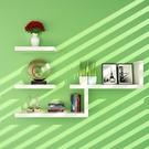 裝飾架 墻上置物架床頭創意簡易書架隔板墻面墻壁掛臥室背景墻體裝飾 小宅君嚴選