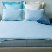 HOLA 超涼感平式保潔墊 淡藍色 加大
