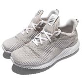 adidas 慢跑鞋 AlphaBOUNCE 1 W 灰 白 鯊魚鰓 舒適緩震 女鞋 運動鞋【PUMP306】 AC6921