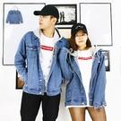 外套-嘻哈棉帽牛仔外套-情侶必備款《99977101》藍色【現貨+預購】『RFD』