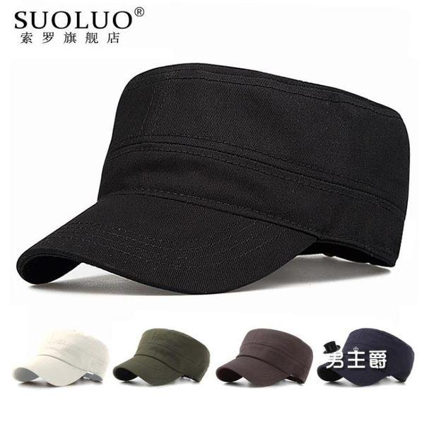 鴨舌帽夏季新品正韓新品平頂帽時尚棒球帽棉質軍帽遮陽帽戶外帽子男女士
