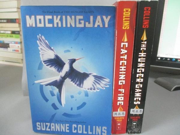 【書寶二手書T1/原文小說_HGE】Hunger Games Boxset_Suzanne Collins
