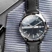 A/X Armani Exchange 亞曼尼 AX2101 時尚格紋紳士腕錶 熱賣中!