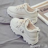 小白鞋女 老爹鞋子女新款秋季爆款棉鞋運動小白鞋百搭潮 快速出貨