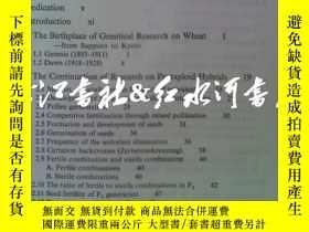 二手書博民逛書店原版精裝英文wheat罕見studies:retrospect