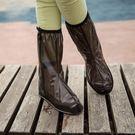 高筒防水防雨鞋套男女 防滑加厚耐磨雨鞋套成人 下雨天學生雨鞋套 【好康八九折】
