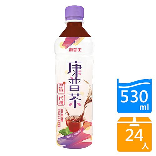 康普茶雙纖飲530mlx24/箱【愛買】
