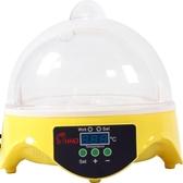 孵化機 7枚小雞鴨鵪鶉孵蛋器 HHD孵化器 自動控溫小型家用迷你款沖冠 城市科技DF