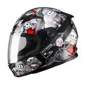 [東門城] SOL SF-2 GM-49Y 精靈 黑/銀 內襯全可拆洗 全罩式安全帽
