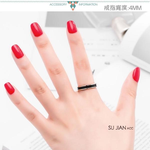 素簡手作《RG004》韓版18k玫瑰金尾戒 玫瑰金戒指 女戒 鋯石戒指