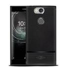 【默肯國際】IN7 荔枝紋系列 Sony Xperia XA2 Plus (6吋) 硅膠保護殼 防摔抗震 TPU軟殼