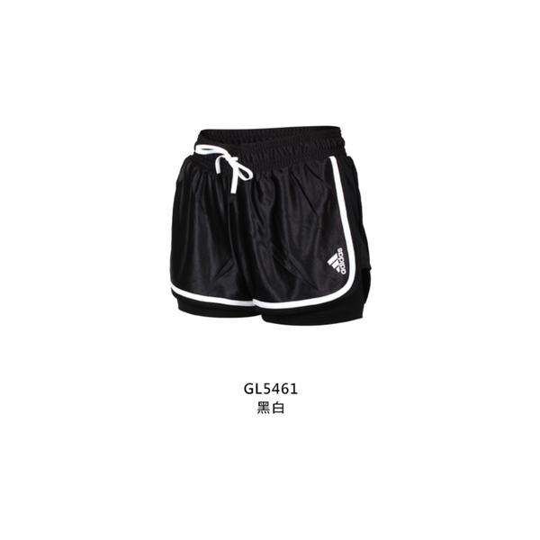 ADIDAS 女運動短褲(亞規 針織 慢跑 路跑 三分褲 愛迪達≡體院≡ GL5461