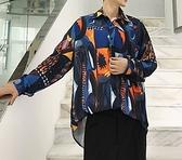 FINDSENSE H1 2018 夏季 新款 個性 復古 慵懶風 長袖 中性襯