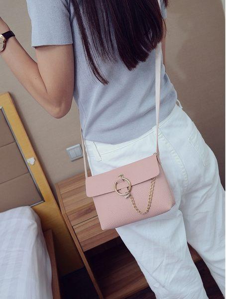 【現貨】新款韓版潮時尚女包迷你小方包 小包包 單肩包 鏈條包 斜挎包(E019)