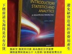 二手書博民逛書店Introductory罕見Statistics and Analytics: A R... (16開) 【詳見圖
