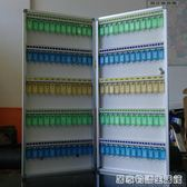 120位金屬鑰匙管理箱壁掛式鑰匙櫃鎖匙分類收納盒銀行鑰匙保管箱 居家物語