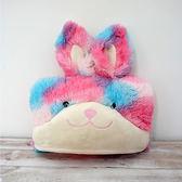 ❤CANDY BEAR❤ 泡泡糖兔披風式&收納式毛毯