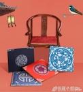 新中式紅木椅子坐墊餐椅圈椅太師實木沙發墊棉麻夏季冰絲透氣涼墊 ATF 格蘭小鋪