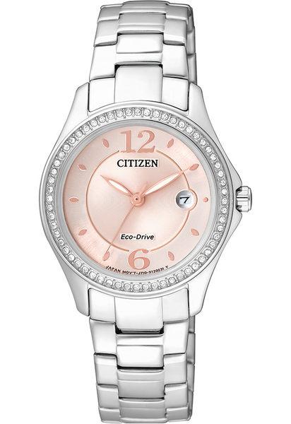【刷卡分期零利率】CITIZEN光動能時尚女錶FE1140-51X 5氣壓防水 29.5mm 台灣星辰公司保固兩年