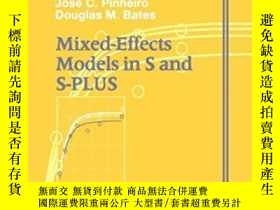 二手書博民逛書店Mixed罕見Effects Models In S And S-plusY256260 Jose C. Pi
