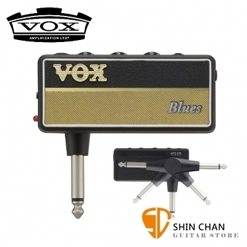 全新二代 VOX amPlug2 Blues 隨身前級效果器 日本製造 ( 加贈輸出轉接頭 / AP2-BL )
