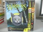 【書寶二手書T6/原文小說_NDA】Warriors: Omen of the Stars_3本合售_Hunter, E