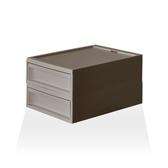 【RISU】北歐風堆疊抽屜櫃組 S -棕色