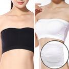 基本必備款   有尺寸可拆式胸墊平布防走光一片式小可愛抹胸    [黑 白] 兩色售 [MNNO16062702]