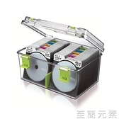 CD收納盒 卡弗光盤儲存盒220片CD盒 大容量CD收納盒箱架收納箱