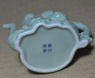 [協貿國際]  青瓷壽星茶壺中式酒壺 (1入)