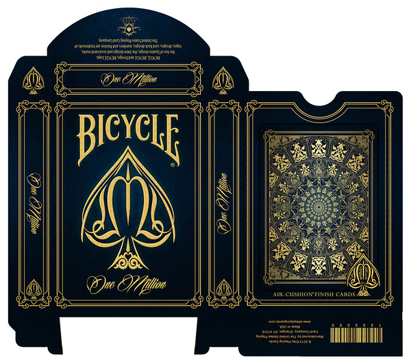 【USPCC撲克】Bicycle one million playing cards