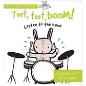 Toot, Toot, Boom! Listen To The Band (A Press And Listen Book) 熱鬧的樂團演奏 硬頁音效書
