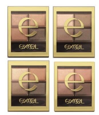 【日本 EXCEL】EXCEL 四色眼影 眼影盤 Kevin推薦! SR01/SR03/SR05 現貨