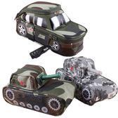 創意男孩坦克筆袋大容量吉普車文具袋鎖男生鉛筆袋文具盒