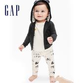 Gap嬰兒 農場主題鬆緊休閒長褲 622857-象牙白