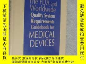 二手書博民逛書店The罕見FDA and worldwide quality s
