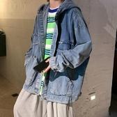 秋冬季復古ins連帽牛仔單寧夾克 男韓版休閒學生百搭 帥氣潮流上衣外套『bad boy時尚』