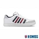 【超取】K-SWISS Court Palisades 時尚運動鞋-男-白/藍/紅