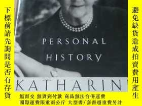 二手書博民逛書店英文原版罕見PERSONAL HISTORY KATHARINE GRAHAM(16 開 毛邊書)Y38170