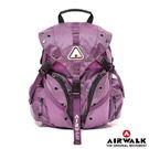 美國AIRWALK強勢崛起繽紛小3叉扣後背包 紫