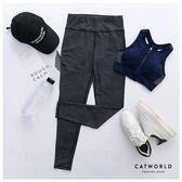 Catworld 速感線條彈力運動褲 速感線條彈力運動褲【12001880】‧S-XL