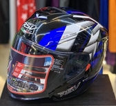 RSV安全帽,CAYENNE,風馳/黑藍