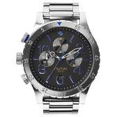 NIXON 48-20 CHRONO 潮流重擊運動腕錶-A4861529