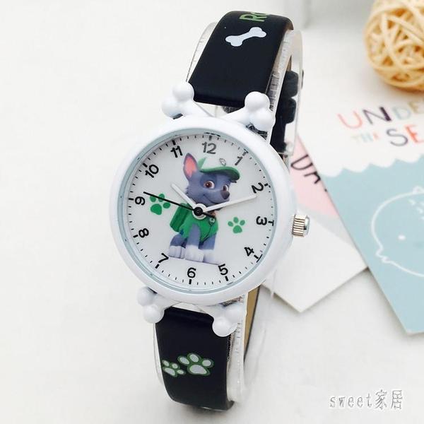 兒童手錶男孩女孩電子防水錶卡通汪汪隊小學生男女童石英手錶 LR9018【Sweet家居】