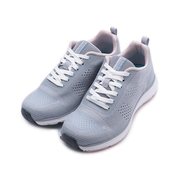 MOONSTAR 飛織綁帶休閒鞋 灰藍 SNGYL024 女鞋