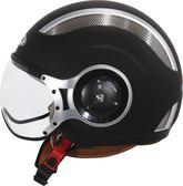 ZEUS ZS-218 素色 MOMO 造型飛行帽 復古帽 安全帽 透氣