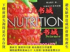 二手書博民逛書店NUTRITION罕見Science and Applicati