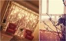 LED窗簾燈 3X3米300顆 (聖誕燈 LED瀑布燈 流星)