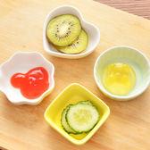 ♚MY COLOR♚日式陶瓷調味碟 廚房 餐具 小吃 餐桌 水餃 醬料 醬醋 調味 料理 沾醬 菜碟【Q268】